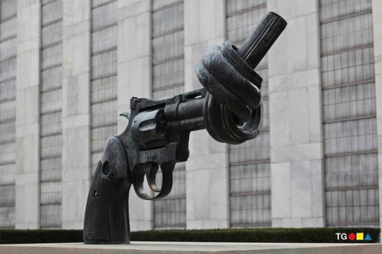 USA - UN - Twisted Gun