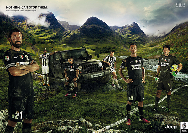 NOTHING CAN STOP THEM – JEEP & JUVENTUS – BRANDING