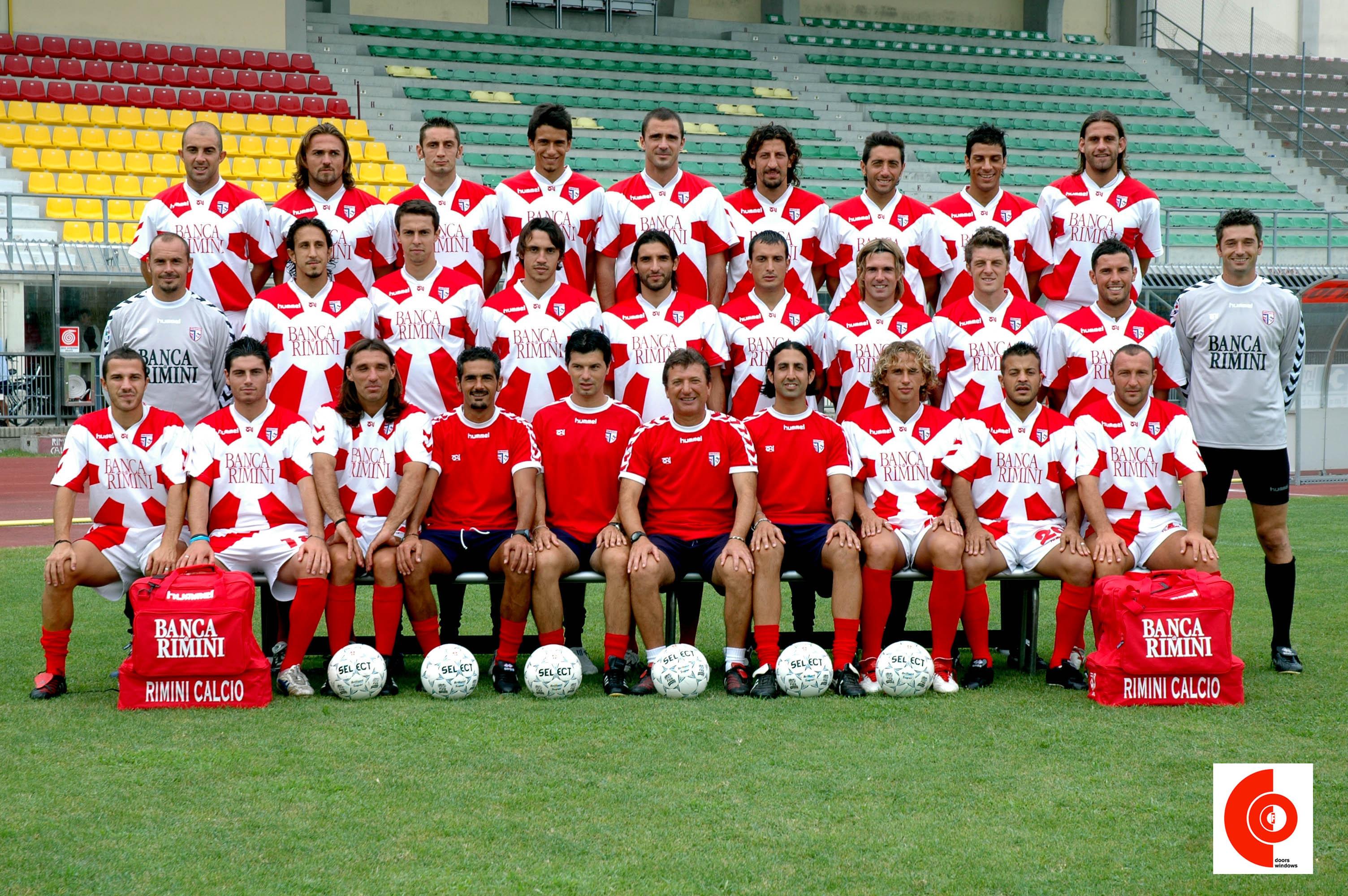 Rimini Calcio - divisa